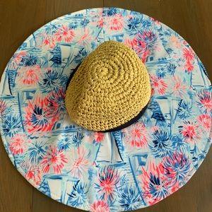 Lilly Pulitzer Beach Hat